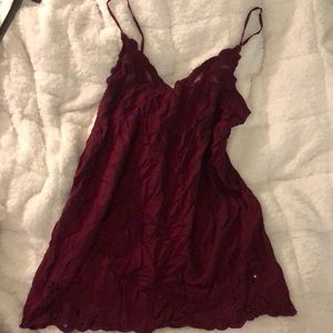 Urban Outfitters Magenta Sundress